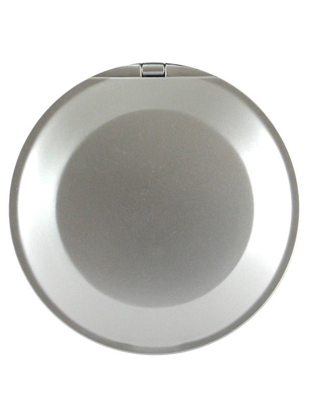 "Round Compact Mirror 4"", 1x/5x. Extra Flat"