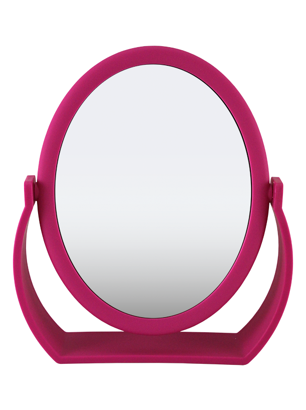 Soft Touch Oval Standing Mirror 1X/7X