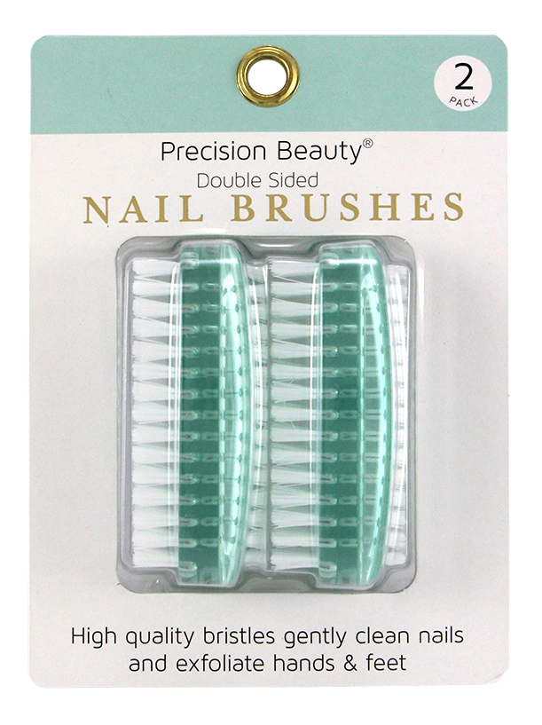 2PK DOUBLE NAIL BRUSH
