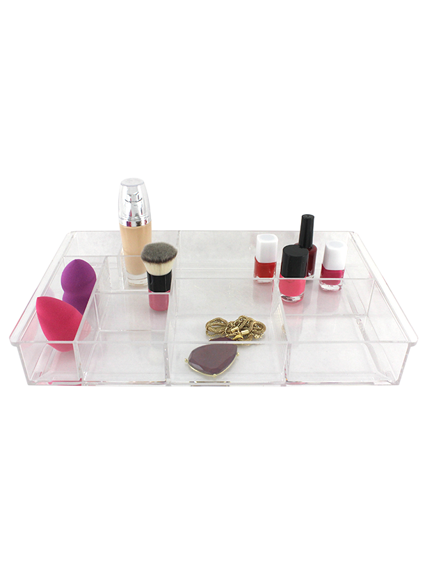 LARGE TRAY COMPARTMENT ORGANIZER.