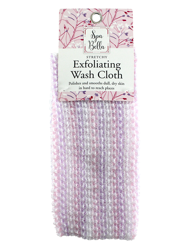 EXFOLIATING STRETCHY WASH CLOTH