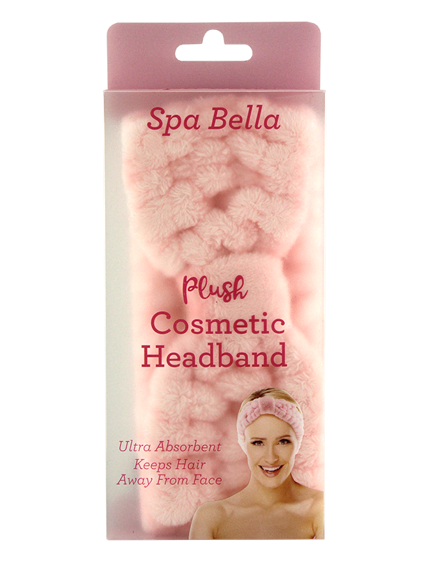 SPA BELLA HEADBAND PINK