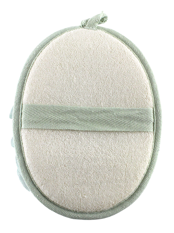 DUAL CLEANSING SHOWER BAMBOO PAD