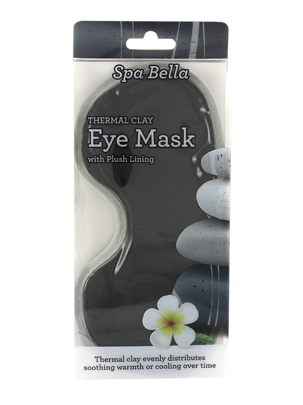 Spa Bella Clay Eye Mask Black
