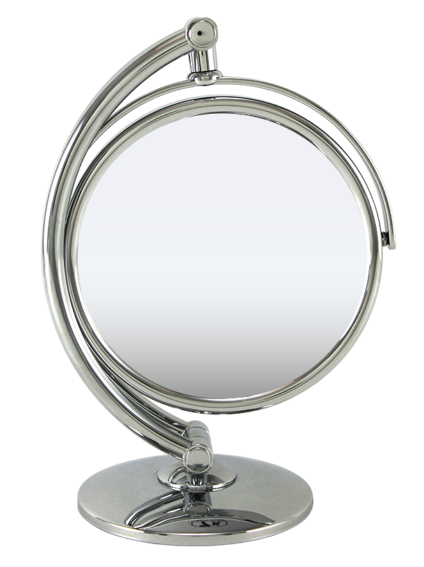 "Chrome Standing Mirror 6"", 1x/7x"