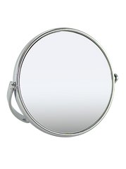 "Chrome Plated Standing Mirror 5"", 1x/7x"