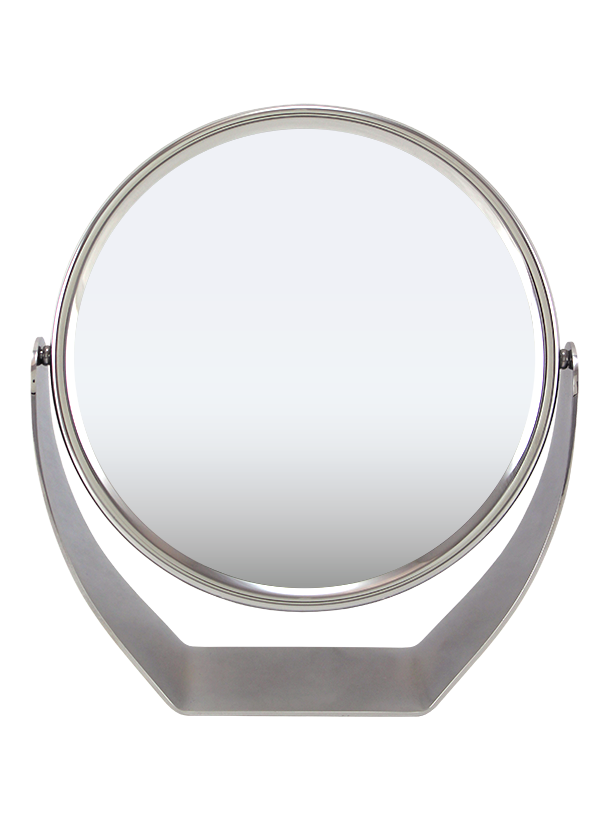 "Chrome Vanity Mirror, 7"" ,1x/5x"