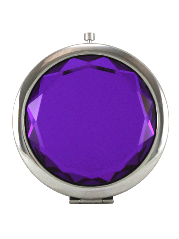 Jeweled Compact Mirror