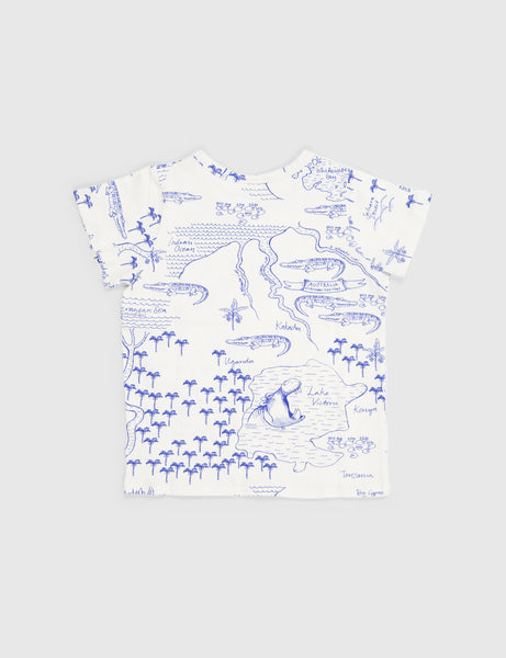 Croco Map Shortsleeve Tee