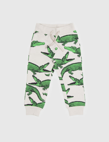 Crocodile Sweatpants