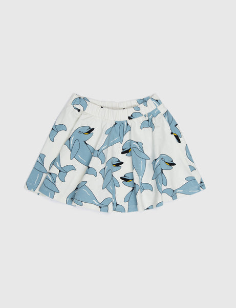 Dolphin Skirt in Blue