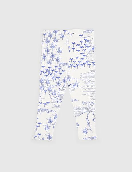 Croco Map Leggings