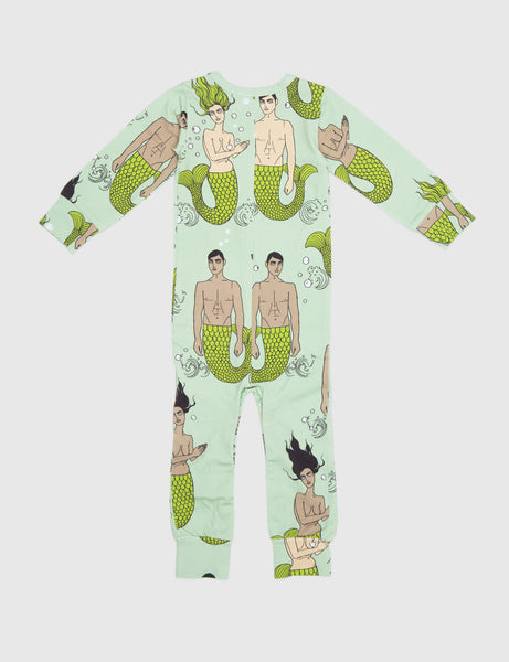 Mermies Jumpsuit in Green