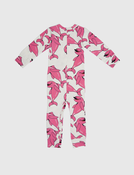 Dolphin Jumpsuit in Pink