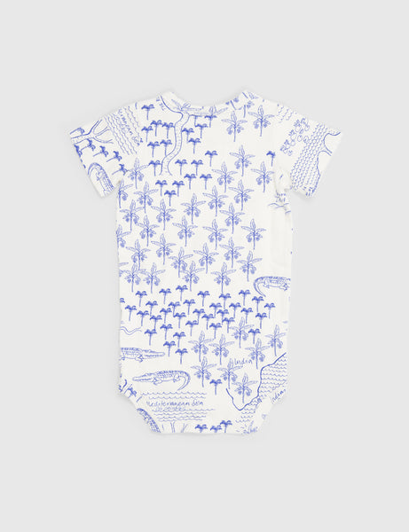 Croco Map Shortsleeve Body