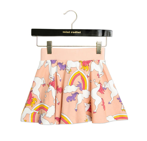 Unicorn Sweatskirt in Pink