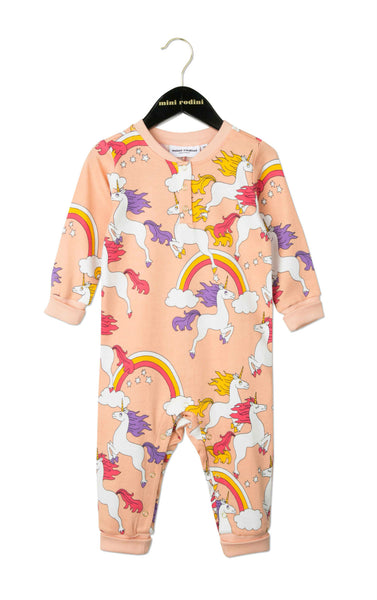Unicorn Onesie in Pink