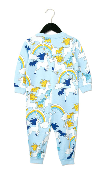 Unicorn Onesie in Blue
