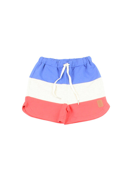 Red, White(ish), and Blue Shorts