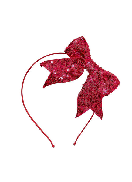 Gleaming Bow Headband