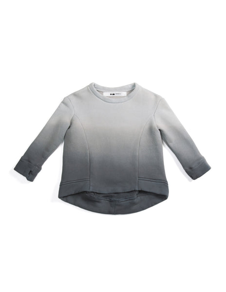 Ombre Structured Sweatshirt