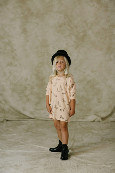 Circus Horses Slouch Dress
