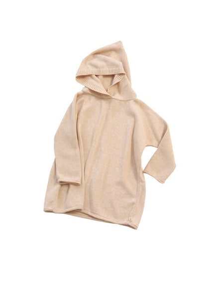 Summer Poncho in Peach Melange