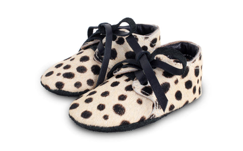 Safari Booties in Dalmatian