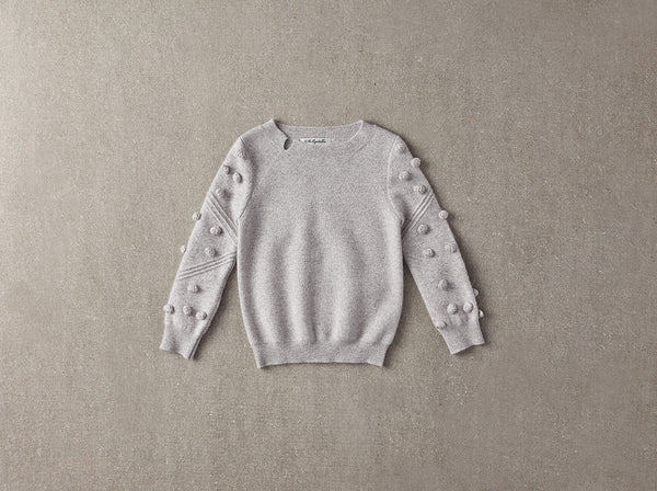 Snowdrop Sweater in Grey
