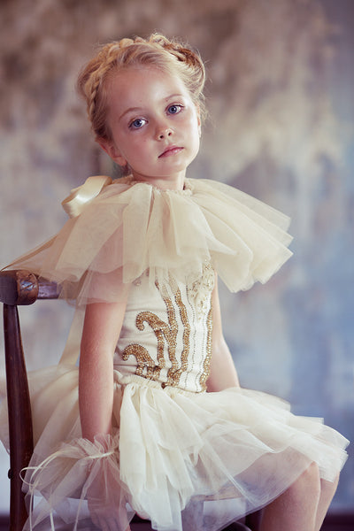 Golden Apple Tutu Dress