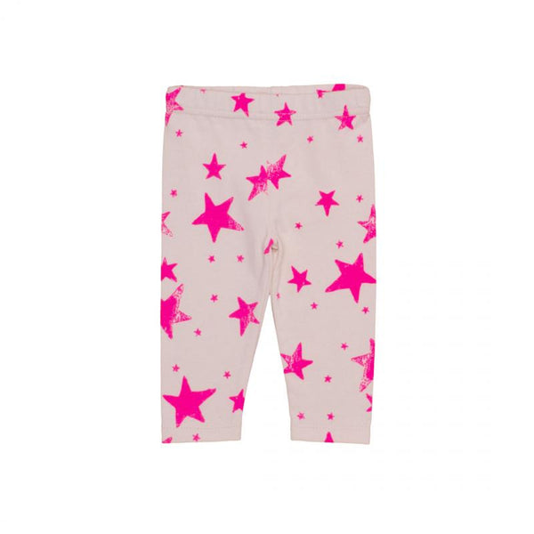 Pink Star Leggings