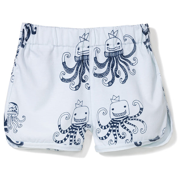 Octopus Shorts in White