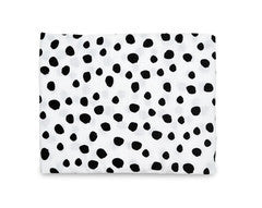 Spots Organic Cotton Muslin Swaddle