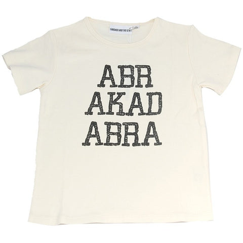 ABRAKADABRA Tee in Off White