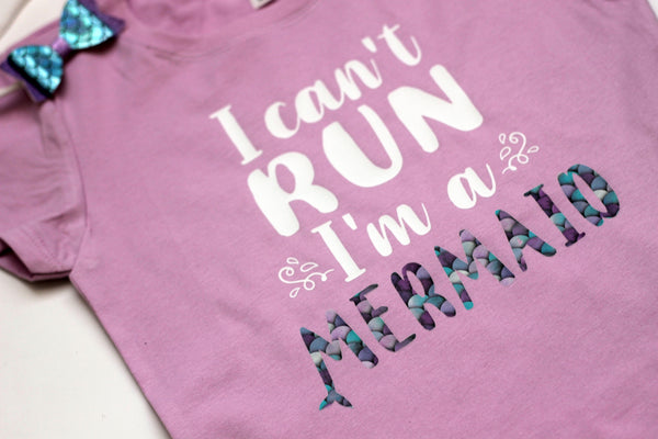 I can't run, I'm a mermaid