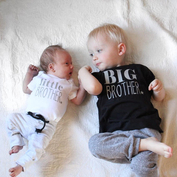 Little Brother Big Brother shirt set