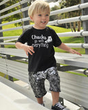 Chucks Go With Everything Kids Shirt