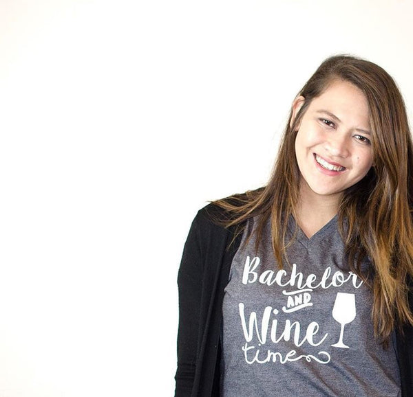 Bachelor and Wine Time Shirt