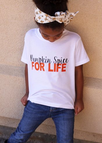 Pumpkin Spice For Life Shirt