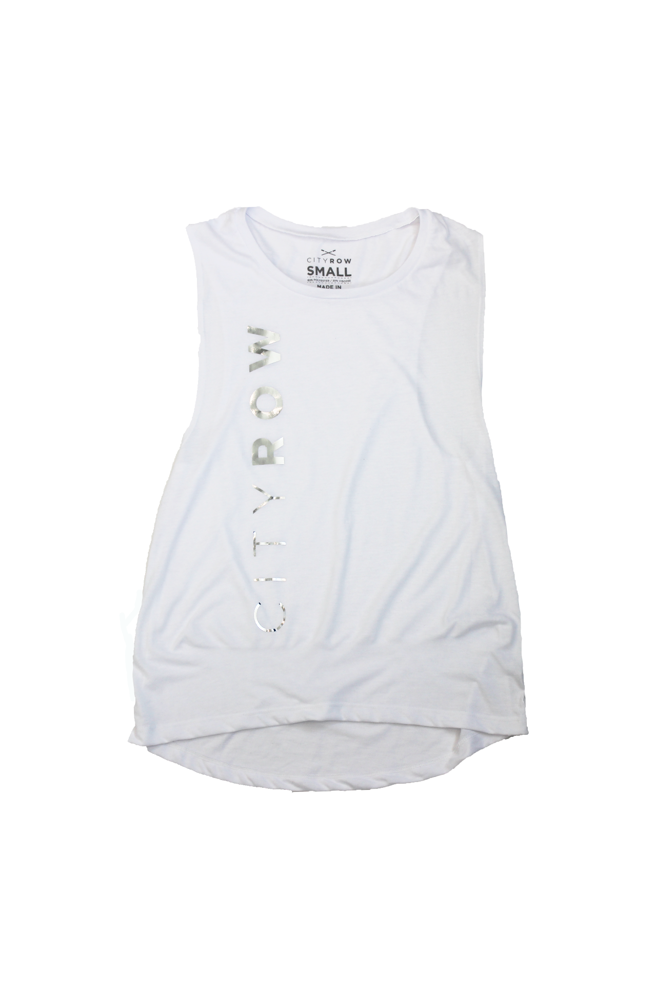 Vertical Logo  Muscle Tank