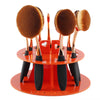 Oval Makeup Brush Holder