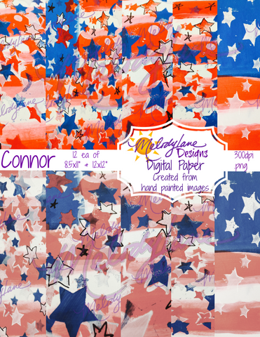 Connor Digital Paper Set
