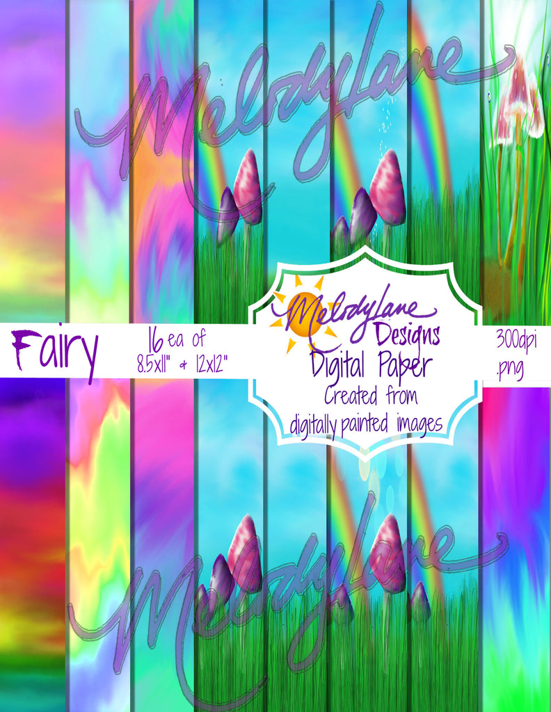 Fairy Digital Paper