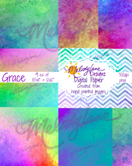 Grace Digital Paper Set