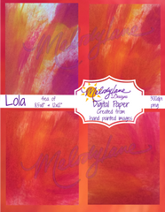 Lola Digital Paper Set