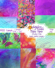 Sample Digital Paper Set