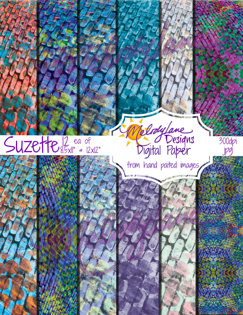 Suzette Digital Paper