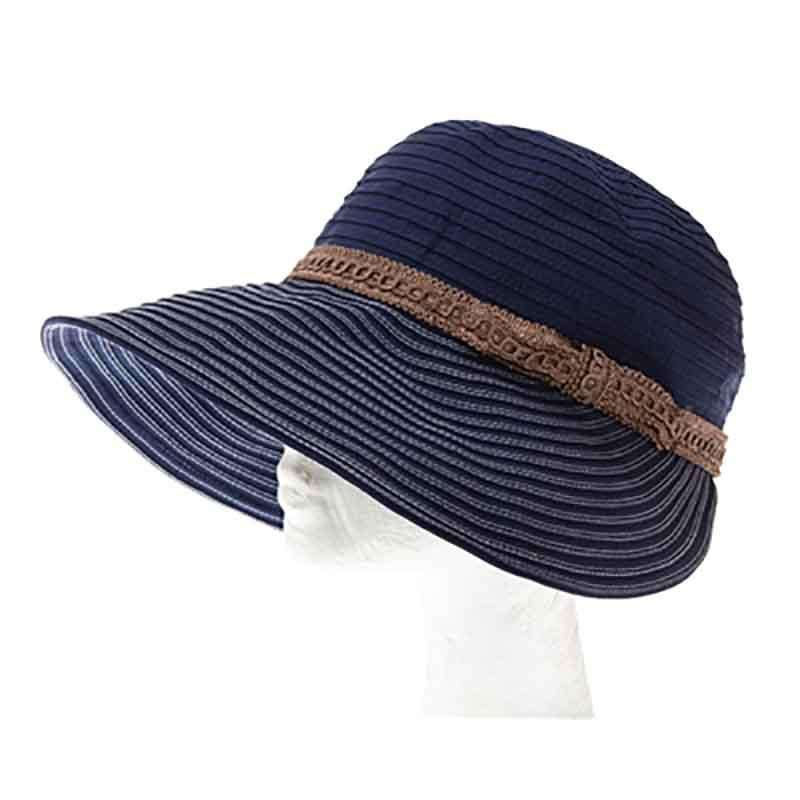 Ribbon Facesaver Style Sun Hat