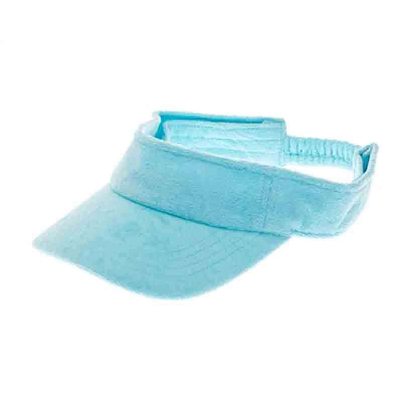 Terry Cloth Sun Visor - Boardwalk Style