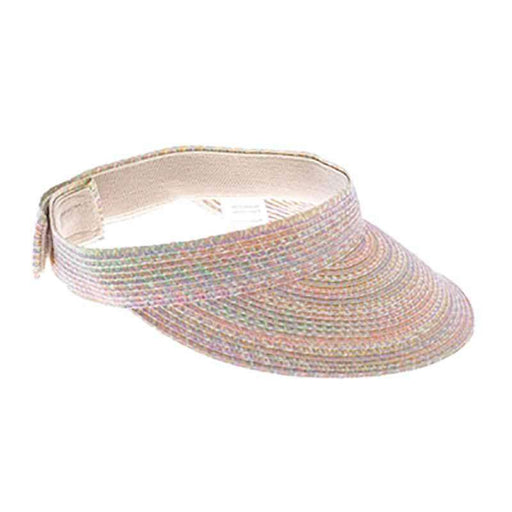 Traditional Sun Visor Tweed - Boardwalk Style